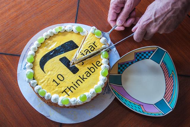 Thinkabe 10 jaar - verjaardagstaart / 10 year anniversary cake